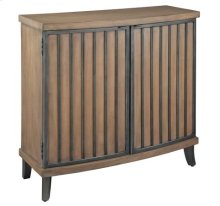 Burnished Brown & Pewter Chest