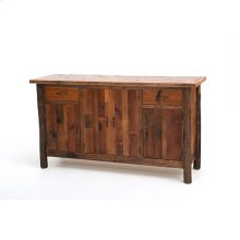 Old Yellowstone - Original Cody 4 Door 2 Drawer Sideboard