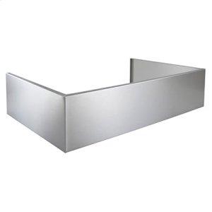 Optional Extended Depth Flue Cover for EPD61 Series Range Hoods in Stainless Steel