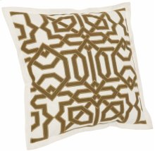 """Luxe Pillows Moroccan Fretwork (22"""" x 22"""")"""