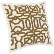 "Luxe Pillows Moroccan Fretwork (22"" x 22"")"