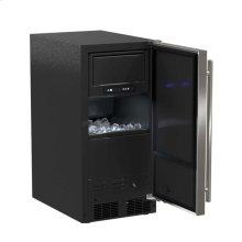 "15"" ADA Height Clear Ice Machine with Arctic Illuminice™ - Gravity Drain - Panel-Ready Solid Overlay Door, Left Hinge*"