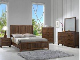 Belmont Queen Wood Panel Hb/fb