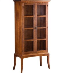 Sabin Bookcase with Glass Doors