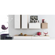 Square wall unit