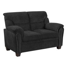 Clementine Casual Grey Loveseat