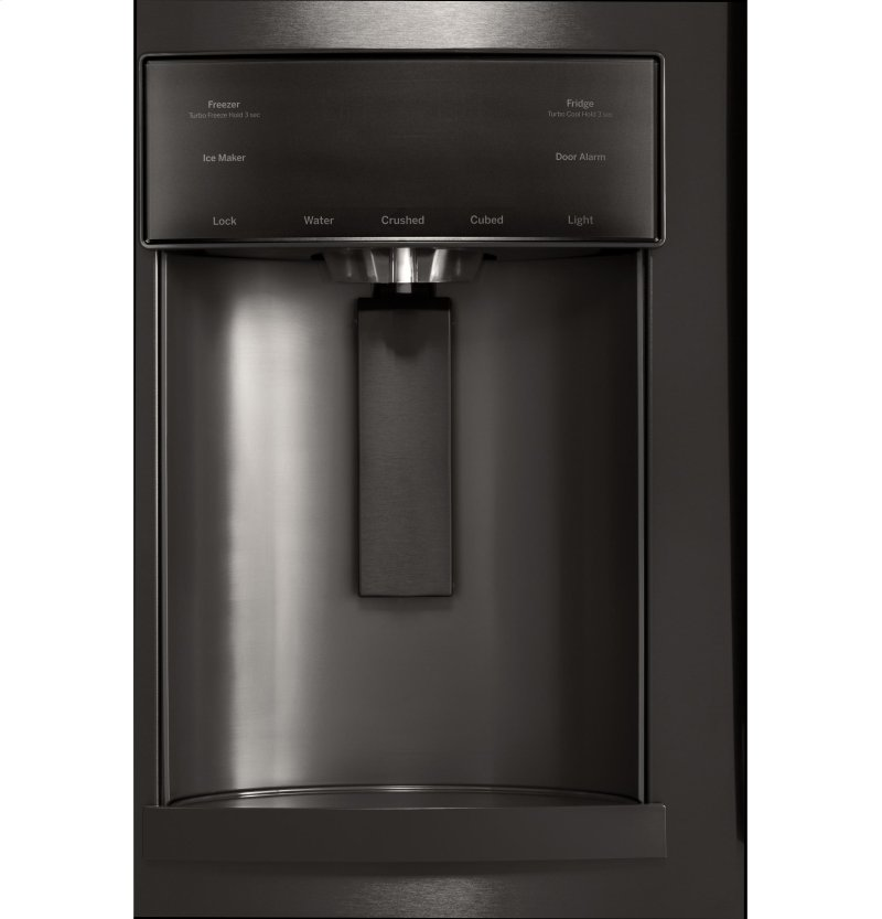 GFD28GBLTS in Black Stainless by GE Appliances in Rouses