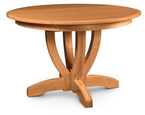 "Brookfield Single Pedestal Table, 18"" Butterfly Leaf"