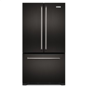 Kitchenaid22 cu. ft. 36-Inch Width Counter Depth French Door Refrigerator with Interior Dispense - Black Stainless
