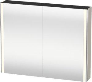 Mirror Cabinet, Taupe Matt (decor)