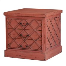 Dauphine 3 Drawer Chest with Cross