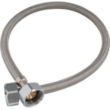 """1/2"""" x 1/2"""" Stainless Steel Hose"""