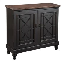 Black Chest with Burnished Brown Top