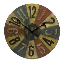 Clarke Game Piece Wall Clock