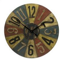 Clarke Game Piece Wall Clock