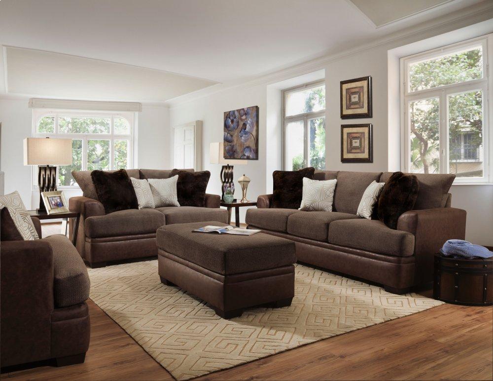 3650akanmochaamerican Furniture Manufacturing 3650 Akan Mocha