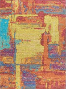 Dynasty - DNS1129 Orange Rug