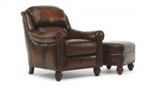 Wayne Leather Chair and Ottoman