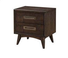 Millennium - 2 Drawer Nightstand-weathered Oak Finish
