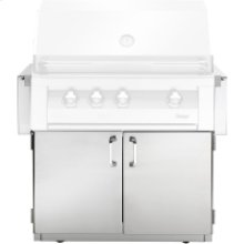 36-In. BBQ Cart with Two Doors