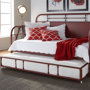 LIBERTY FURNITURE INDUSTRIESTwin Metal Trundle - Red