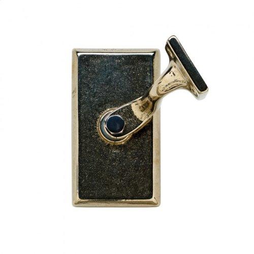 Rectangular Handrail Bracket Silicon Bronze Medium