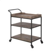 Emerald Home Wheeler Bar Cart Reclaimed Wood, Ac426-07 Product Image