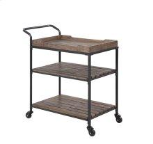 Emerald Home Wheeler Bar Cart Reclaimed Wood, Ac426-07
