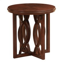 Classic Chic Round Lamp Table