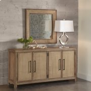 Mirabelle - Accent Mirror - Ecru Finish Product Image
