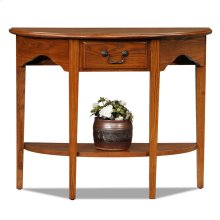 Demilune Console #9036-MED