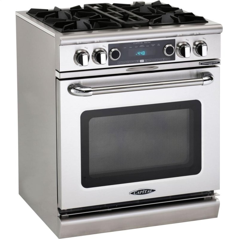 Capital cob304l 30 4 burner gas convection range dual fuel self clean in new jersey - Clean gas range keep looking new ...