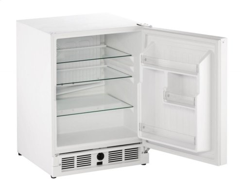 "21"" ADA Solid Door Refrigerator White Solid Field Reversible"