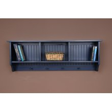 "#361 Cubby Wall Shelf 48""wx11""dx17""h"