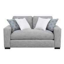Emerald Home U3286-01-13 Medina Loveseat, Gray
