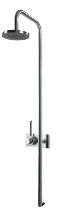 Thermostatic Shower Column Without Shower Head, To Be Completed