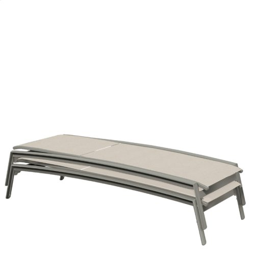 Elance Relaxed Sling Chaise Lounge Armless