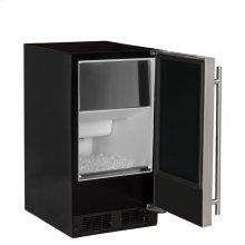 "15"" ADA Height Clear Ice Machine with Arctic Illuminice Lighting - Gravity Drain - Solid Stainless Steel Door, Left Hinge"