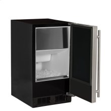 "15"" ADA Height Clear Ice Machine with Arctic Illuminice Lighting - Gravity Drain - Solid Stainless Steel Door, Left Hinge"