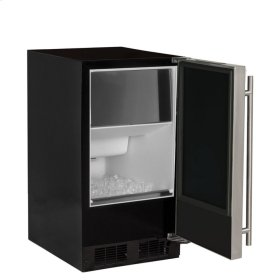 """15"""" ADA Height Clear Ice Machine with Arctic Illuminice Lighting - Factory Installed Pump - Solid Stainless Steel Door, Right Hinge"""