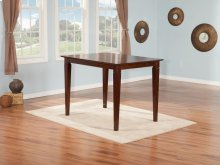 Montego Bay Pub Table 36x48 in Walnut