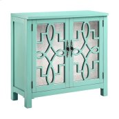 Laden Cabinet In Turquoise
