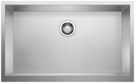 Blanco Precision® R0 Durinox® Super Single Bowl With Apron - Stainless steel Durinox®