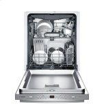 Bosch500 Bar Hndl, 5/5 cycles, 44 dBA, Flex 3rd Rck, UR glide, InfoLight - SS
