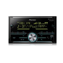 Double DIN Digital Media Receiver with Enhanced Audio Functions, Improved Pioneer ARC App Compatibility, MIXTRAX ® , Built-in Bluetooth ® , and SiriusXM-Ready
