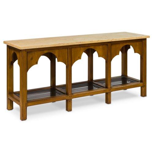 Railroad Trestle Table
