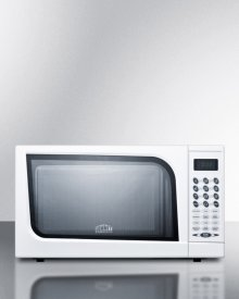 Mid-sized Microwave Oven With A Fully White Finish; Replaces Sm900wh