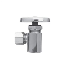 """Oil Rubbed Bronze Angle Valve, 1/2"""" IPS"""