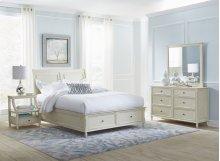 Avignon Ivory Full Storage Bed
