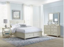 Avignon Ivory Tri-level Nighstand